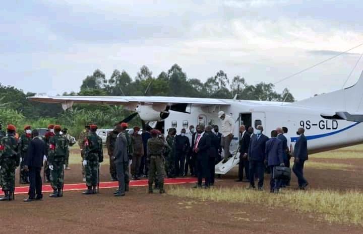 RDC: Félix Tshisekedi vient d'arriver à Beni
