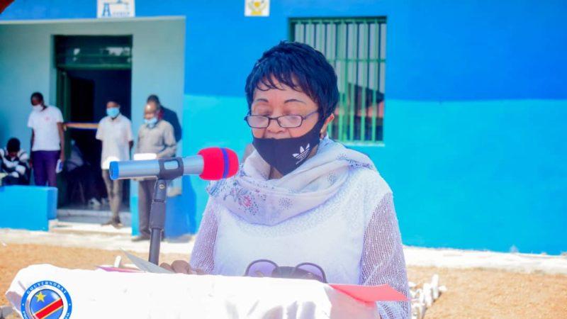 Kasaï oriental : Jeannette Longa inaugure le bureau de l'inter ASUREP