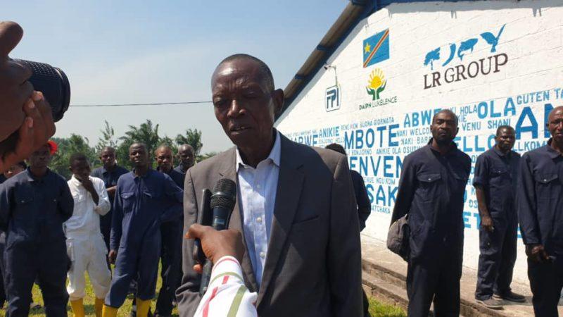 Kasaï oriental : Le nouveau responsable de DAIPN Lukalenge promet d'augmenter la production pour réduire le prix des poulets