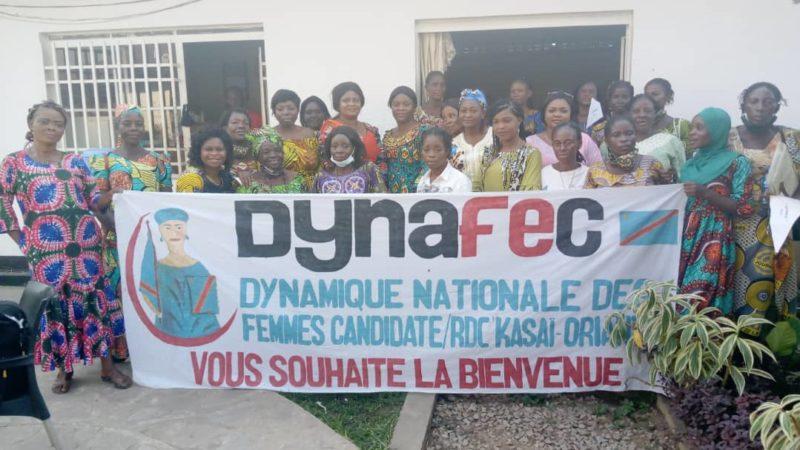 Kasaï oriental : les femmes de la DYNAFEC ont échangé avec la chargée nationale de genre et affaires sociales