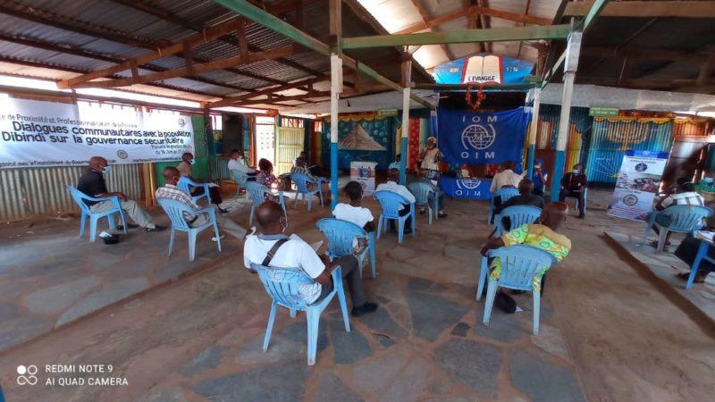 Kasaï oriental: Les problèmes sécuritaires de Dibindi et leurs solutions débattus au conseil local pour la sécurité de proximité