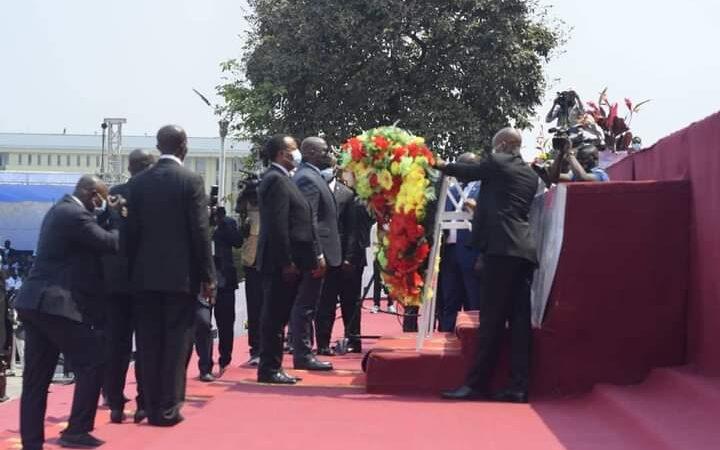 RDC : Félix Tshisekedi décore le Cardinal Laurent Monsengwo Pasinya au rang de Grand chancelier
