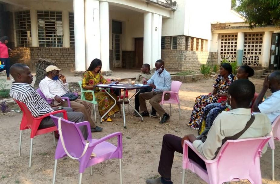 Kasaï oriental : la Coordonnatrice de la Nouvelle Société Civile Congolaise restitue sa mission de Kinshasa