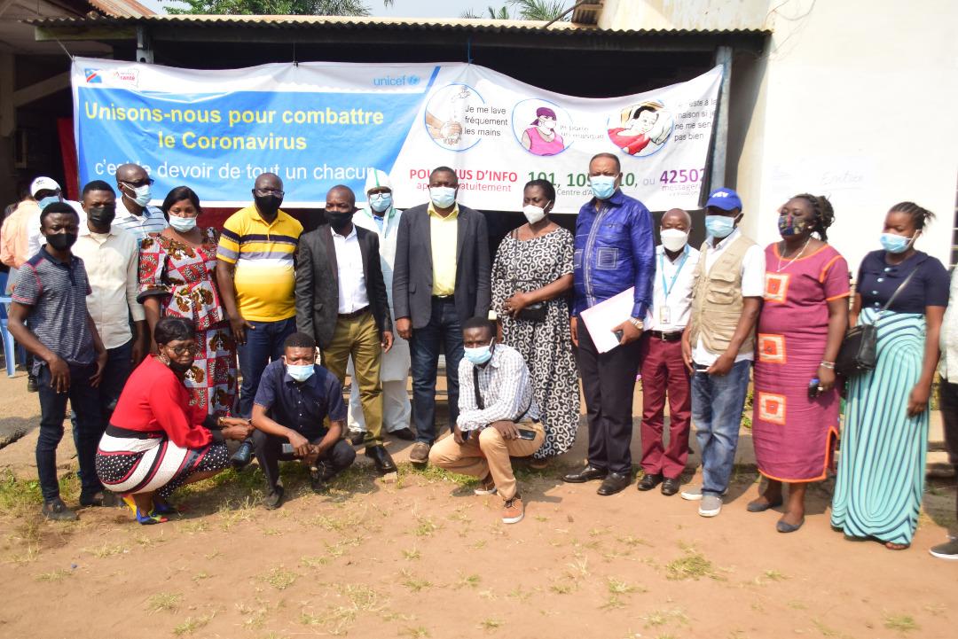 Kasaï oriental : le ministre de la santé lance la campagne de vaccination contre le covid-19