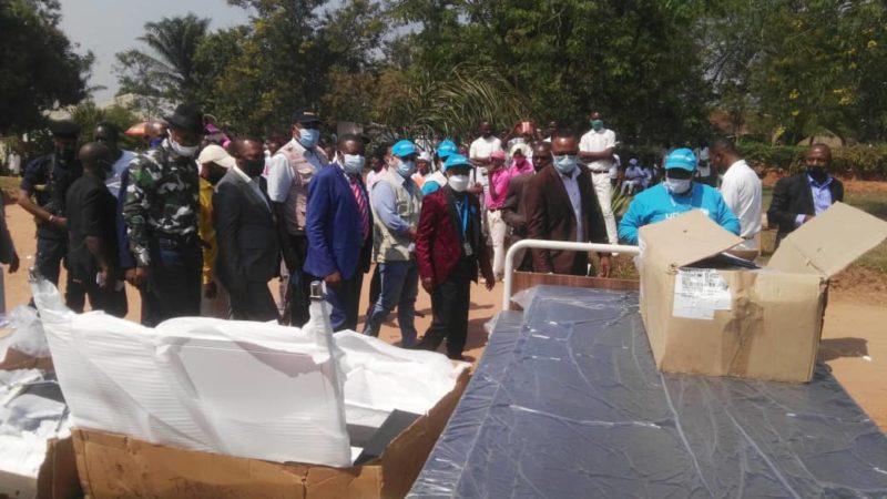 Kasaï oriental- Covid19: La zone de santé de Miabi a bénéficié des médicaments et équipements médicaux