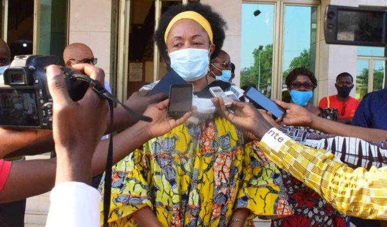 Kasaï oriental : Jeannette Longa fixe à 2.000 fc l'amende pour quiconque ne mettra pas son masque