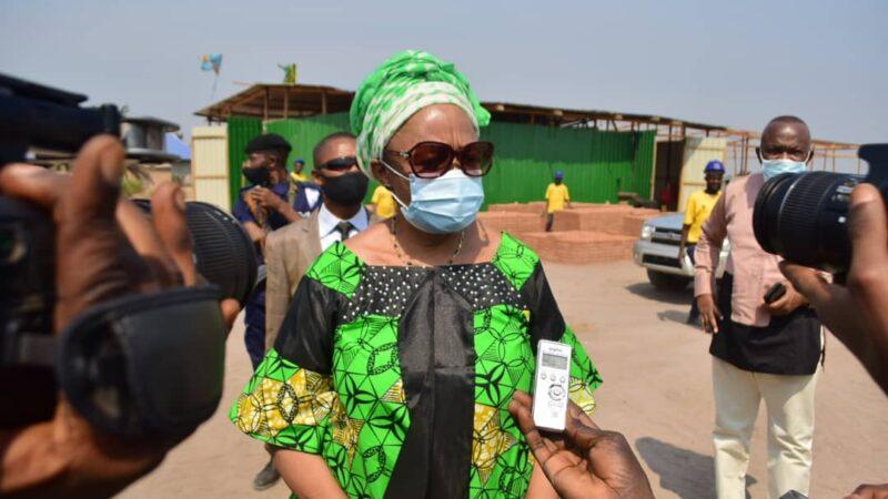 Kasaï oriental : «je préfère laisser la population elle-même juger», dixit Jeannette Longa au sujet des travaux lancés à Mbujimayi