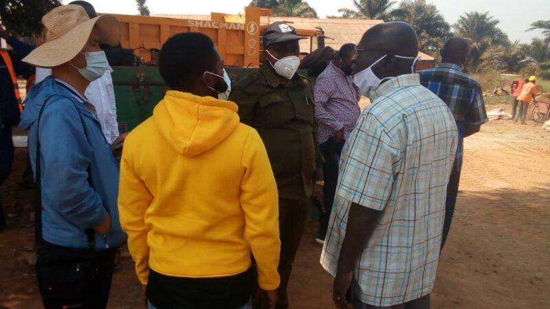 Kasaï oriental : Le DG de l'OVD instruit à CREC7 de se déployer sur les avenues Lumumba et Odia David
