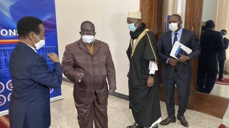 RDC: Christophe Mboso reçoit la CENCO et l'ECC, deux frustrés de la désignation de Kadima