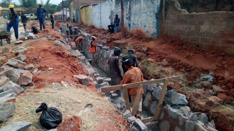 Kasaï oriental :  L'OVD a repris les travaux sur l'avenue Casop sur financement de la province
