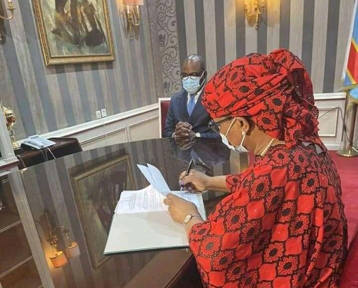 RDC: Marie-France Malangu Kabedi prend officiellement ses fonctions