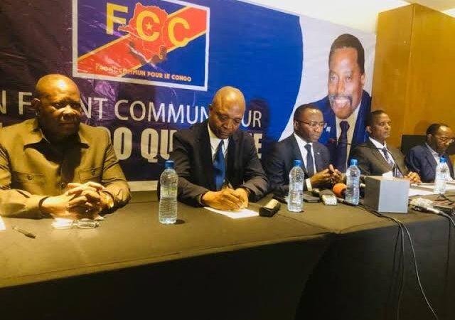 RDC : Le FCC  accuse Tshisekedi d'endormir le peuple pour ne pas organiser des élections en 2023