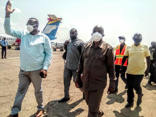 Kasaï oriental : Le directeur général de l'OVD est arrivé à Mbujimayi