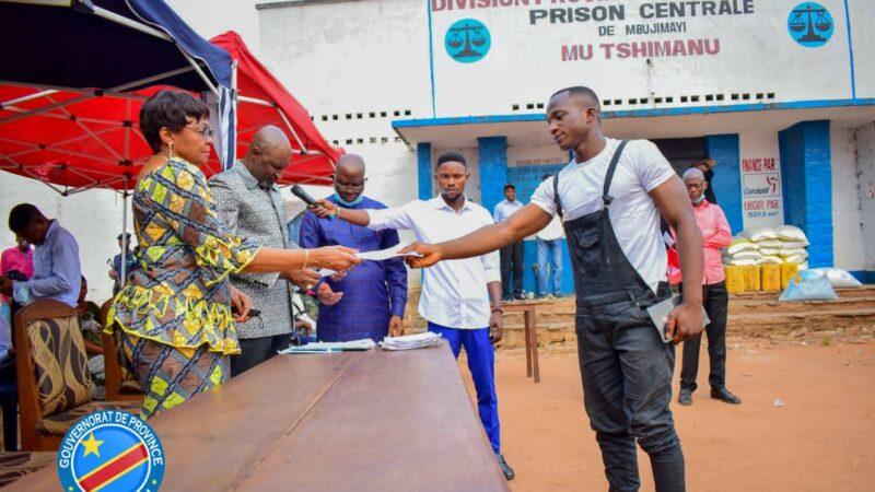 Kasaï oriental : 39 détenus dont 3 femmes de la prison centrale de Mbujimayi bénéficient de la grâce présidentielle