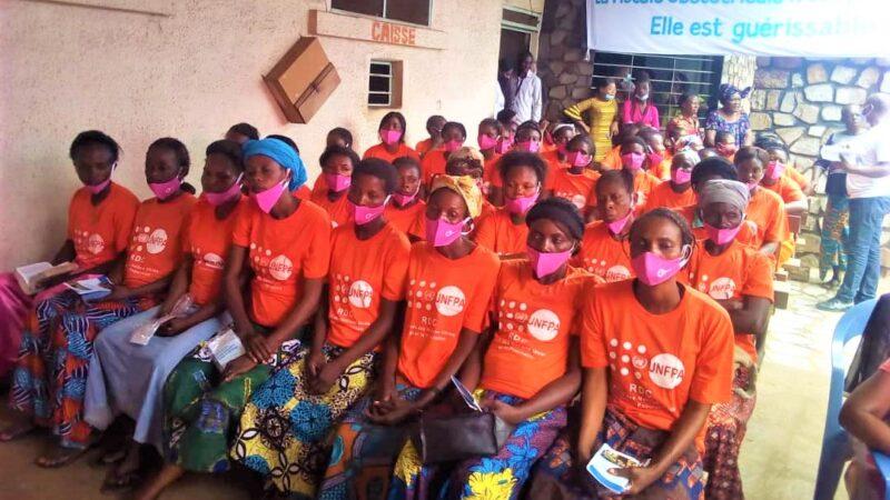 Kasaï oriental : le Fonds des Nations Unies pour la Population remet les kits de dignité aux femmes guéries de la fistule obstétricale
