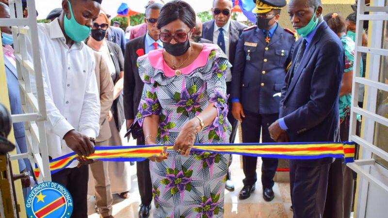 Kasaï oriental : inauguration du bâtiment du Sous-Commissariat de Beena Kabongo dans la commune de Dibindi
