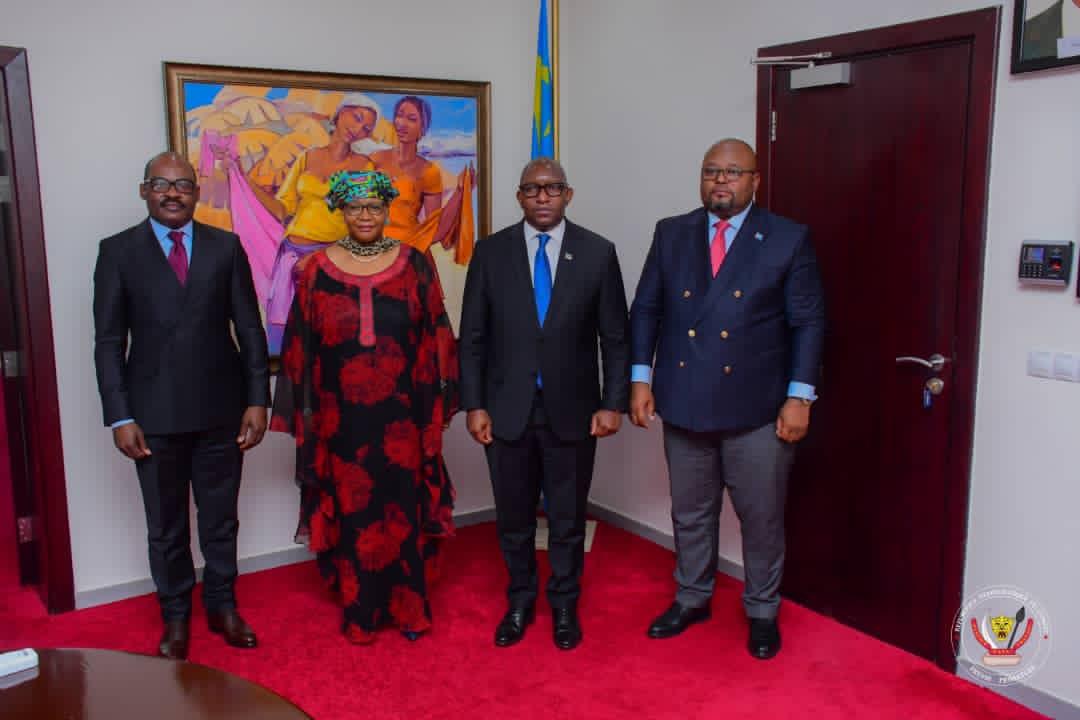 RDC: le Premier ministre Sama Lukonde préside sa première réunion de la troïka économique