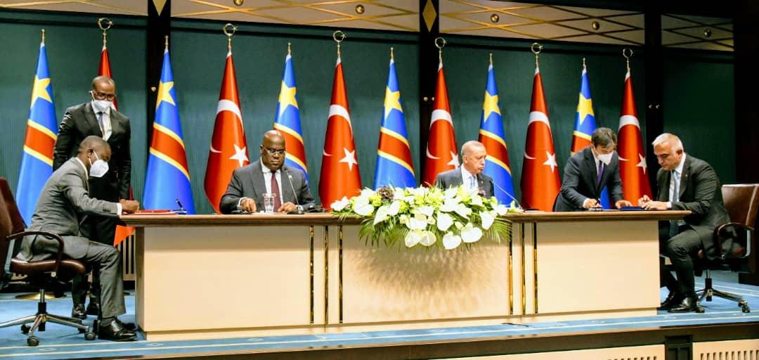 RDC: première visite de Félix Tshisekedi à Ankara