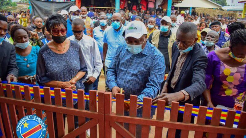 Kasaï Oriental : le ministre d'État François Rubota inaugure deux marchés utra modernes à Tshilenge