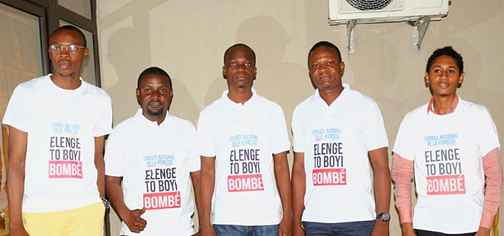 RDC: Le conseil national de la jeunesse lance la campagne «Elenge toboyi Bombé»
