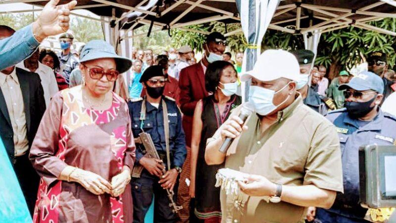 Kasaï Oriental : François Rubota inaugure le marché «Étienne Tshisekedi wa Mulumba» à Kabeya Kamwanga