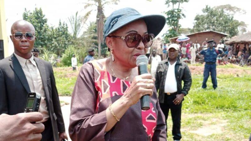 Kasaï Oriental : Jeannette Longa sollicite du gouvernement central la réhabilitation et modernisation du marché Simis