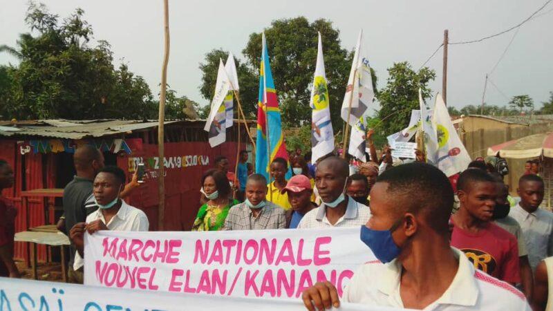Kasaï Central: la marche de lamuka étouffée par les jets des pierres à Kananga