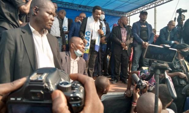 RDC : soutenons nos institutions et le président de la république, Félix Tshisekedi ( Christophe Mboso à la population de Tshiangu)