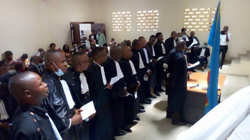 Kasaï Central : 15 avocats inscrits au tableau du  barreau de Kananga après renouvellement de serment