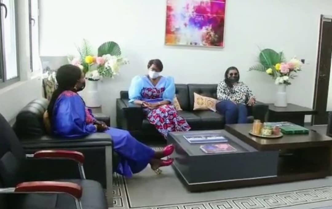 RDC-Lualaba: échanges entre Jeannette Longa et sa collègue Fifi Masuka