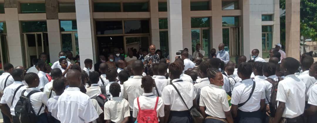 Kasaï Oriental : les élèves de l'institut Kalenda Mudishi à la recherche d'un cadre pour étudier