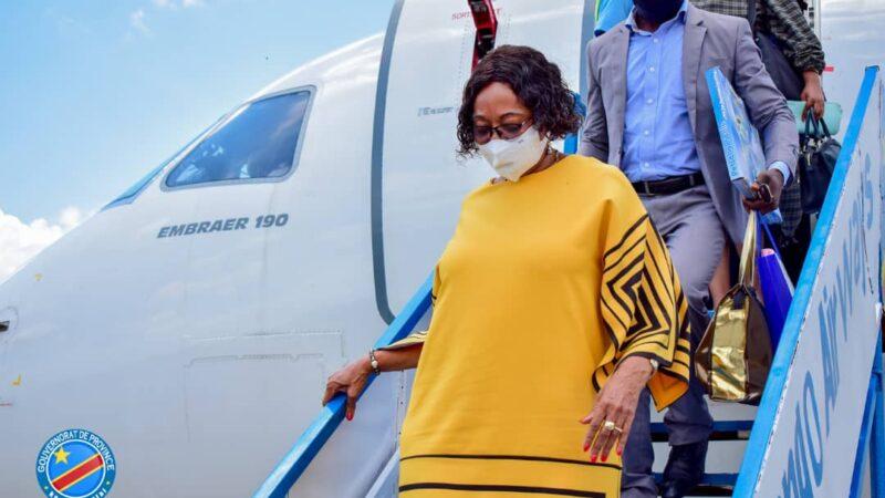 Kasaï Oriental : retour à Mbujimayi de Jeannette Longa en provenance du Lualaba