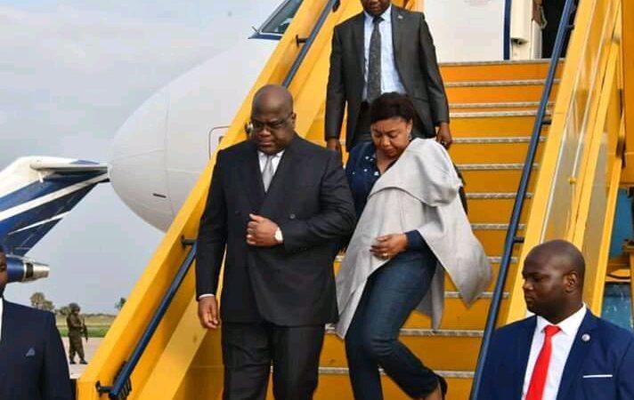 RDC: Félix Tshisekedi est de retour au pays après un séjour à Dubaï
